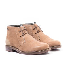 Barbour Readhead Suede Chukka Boots - Sand