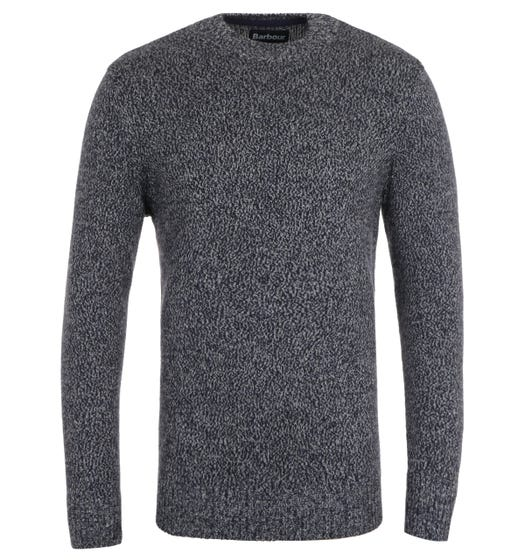 Barbour Sid Navy Marl Sweater
