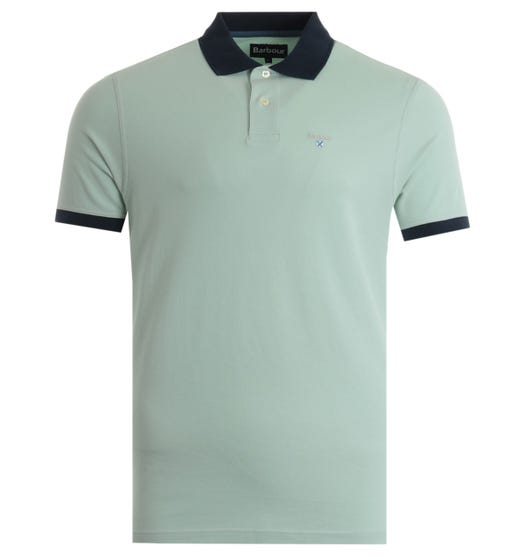 Barbour Lynton Polo Shirt - Aqua