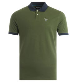 Barbour Lynton Polo Shirt - Rifle Green