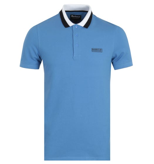 Barbour International Ampere Polo Shirt - Pure Blue