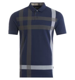 Barbour Blaine Polo Shirt - Regal Blue