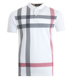 Barbour Blaine Polo Shirt - White