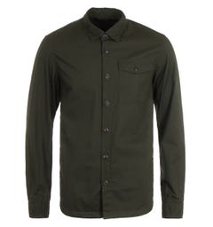 Barbour Durban Forest Green Overshirt