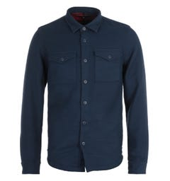 Barbour Melvin Navy Overshirt
