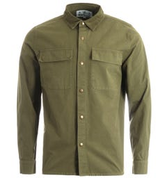 Barbour Nico Overshirt - Olive