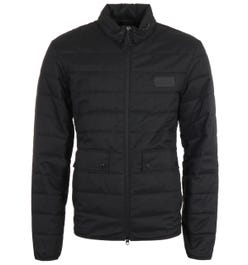 Barbour International Drive Quilted Black Jacket