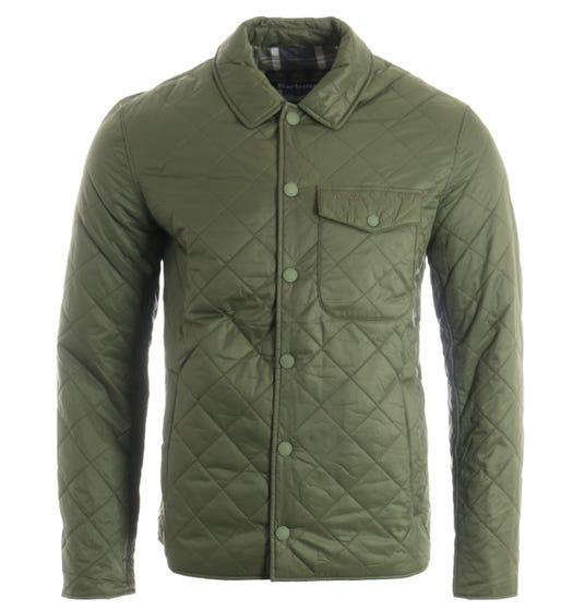 Barbour Tember Quilted Jacket - Olive