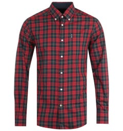 Barbour Tartan 8 Tailored Crimson Shirt