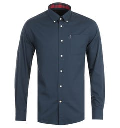 Barbour Cameron Tailored Navy Shirt