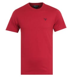 Barbour Sports Crimson Crew Neck T-Shirt