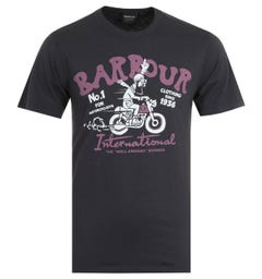 Barbour International Speed Washed Black T-Shirt