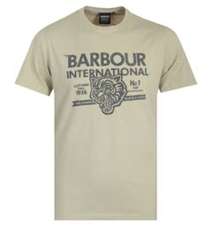 Barbour International Understeer T-Shirt - Washed Stone
