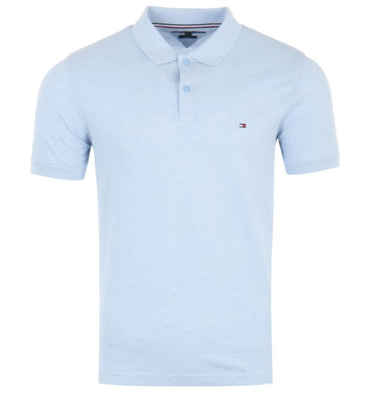 Tommy Hilfiger Heather Slim Fit Polo Shirt - Sweet Blue