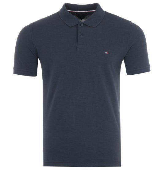 Tommy Hilfiger Heather Slim Fit Polo Shirt - Desert Sky