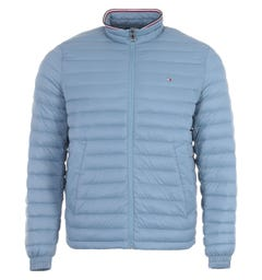 Tommy Hilfiger Packable Down Jacket - Colorado Indigo