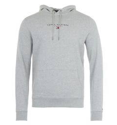 Tommy Hilfiger Organic Cotton Hooded Sweatshirt - Grey