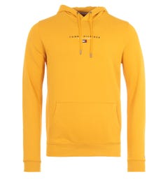 Tommy Hilfiger Organic Cotton Hooded Sweatshirt - Courtside Yellow