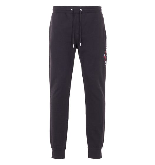 Tommy Hilfiger Organic Cotton Joggers - Black