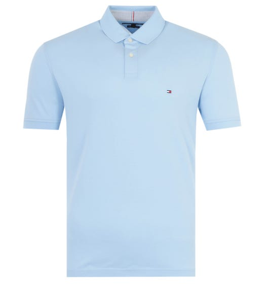 Tommy Hilfiger 1985 Regular Fit Polo Shirt - Sweet Blue
