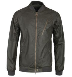 Barbour International Glendale Dark Olive Wax Jacket