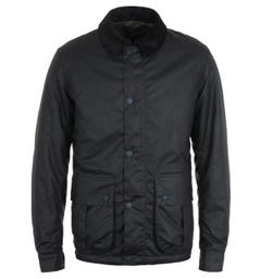 Barbour Allund Navy Wax Jacket