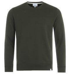 Norse Projects Vagn Classic Crew Sweatshirt - Beech Green