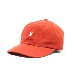 Norse Projects Twill Sports Cap - Industrial Orange