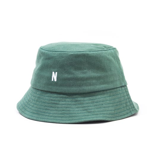 Norse Projects Twill Bucket Hat - Dartmouth Green