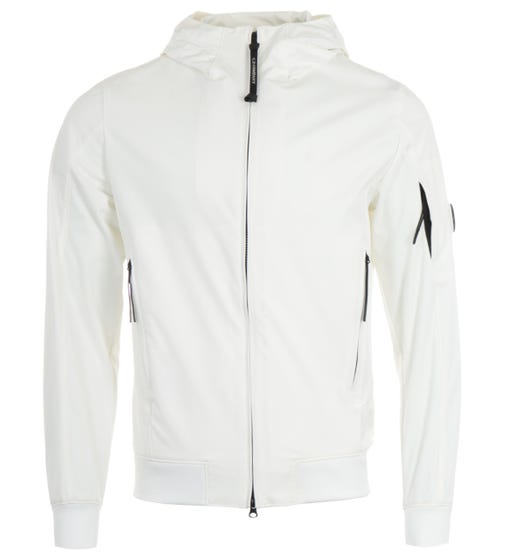 CP Company Shell Recycled Lens Jacket - White