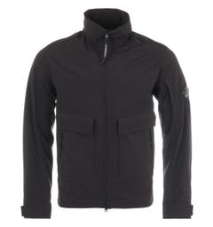 CP Company Shell Recycled Utility Jacket - Black