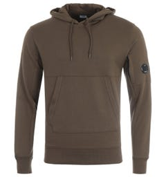 CP Company Lens Hooded Sweatshirt - Ivy Green