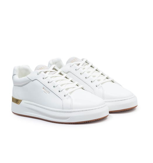 Mallet GRFTR Leather Trainers - White