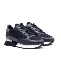 Mallet Popham Trainers - Black Reflect