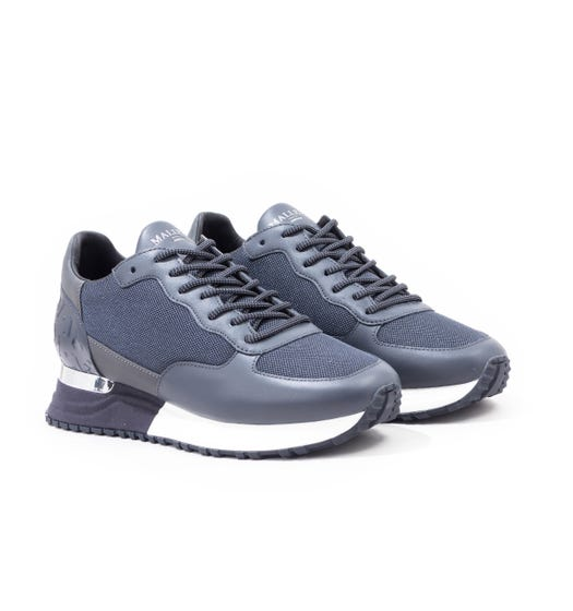 Mallet Popham Trainers - Navy Reflect