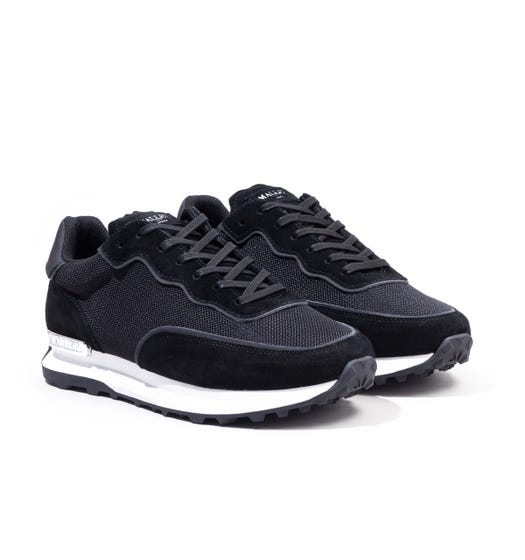 Mallet Caledonian Mesh Reflect Trainers - Black