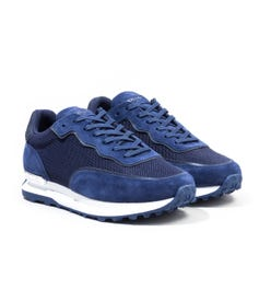 Mallet Caledonian Mesh Reflect Trainers - Navy