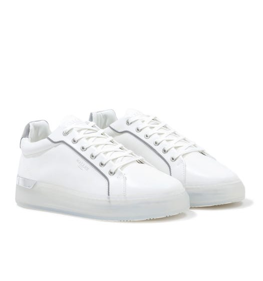 Mallet GRFTR Clear Reflect White Trainers
