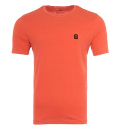 Parajumpers Patch T-Shirt - Carrot Orange