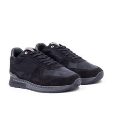 Unlike Humans Surge Runner Stealth Camo Trainers - Black