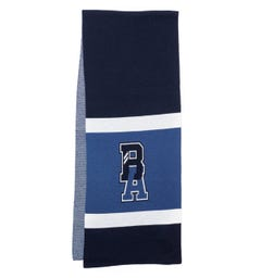 BOSS x Russell Athletic Wool Blend Scarf - Blue