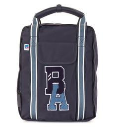 BOSS x Russell Athletic Exclusive Logo Squared Backpack - Navy